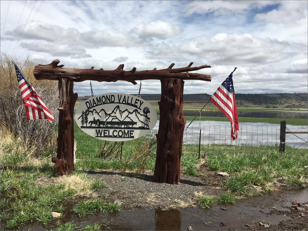 In Diamond Valley, Oregon, many residents voted for President Trump and say they'd do it again now despite fresh trade tariffs on beef.