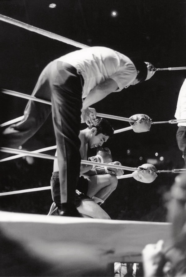"This capture of boxer Rubén Navarro, aka ""The Maravilla Kid,"" was taken in 1968."