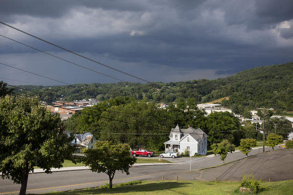 "Galax, Va. is dotted with small stores and references to the town's history as the center of ""old-time"" fiddle music can be seen everywhere."