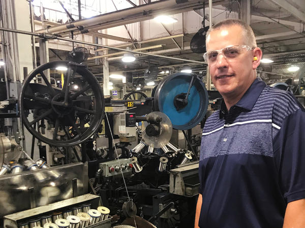 Doug Brenneke, Belden's vice president of research and development, says the company has faced a severe shortfall of workers for at least two years. Meanwhile, the drug test failure rate has nearly tripled.