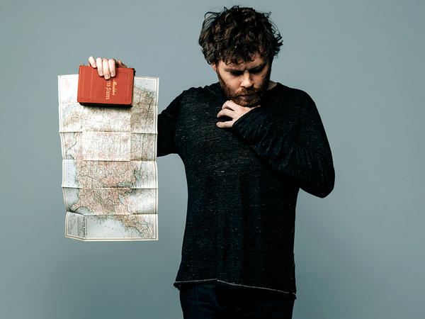 Gabriel Kahane's new album, <em>Book of Travelers</em>, was conceived on a two-week train ride across America.