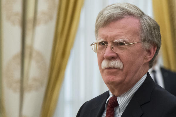 National security adviser John Bolton said a new White House order on election security isn't aimed at any particular country.