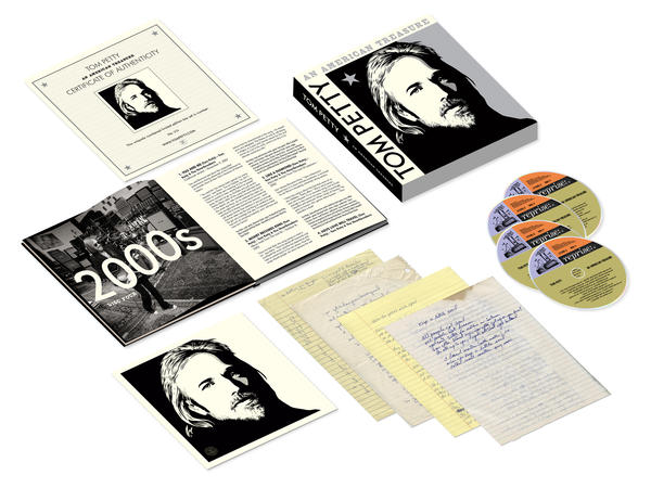 <em>Tom Petty: An American Treasure</em> commemorative box set.