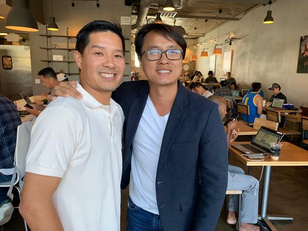 "Tam and Sonny Nguyen, Vietnamese-American business owners in the Orange County neighborhood of Little Saigon, say they see a ""stark difference"" between the generations not just in their politics, but in how they do business."
