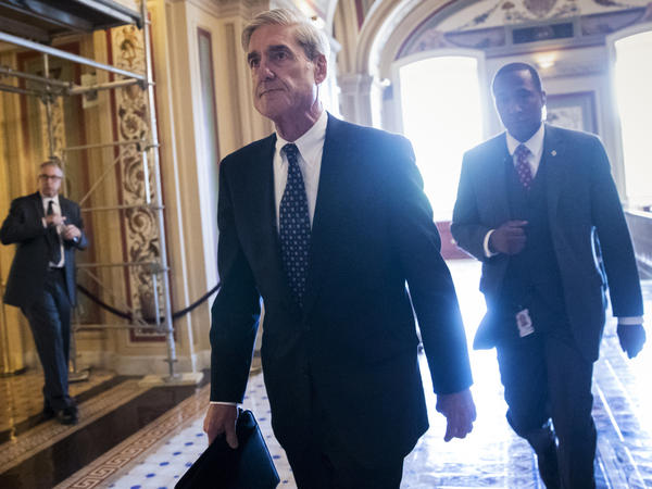 "Justice Department special counsel Robert Mueller in the Capitol. A long-secret ""road map"" from the Watergate era, which could soon become public, might show the way for Mueller's office."