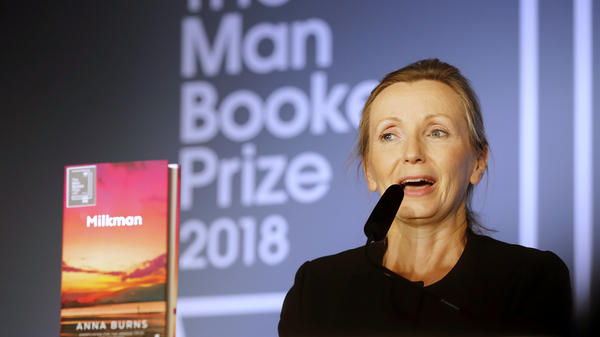 Anna Burns, author of Milkman, which was awarded the Man Booker Prize for Fiction on Tuesday.
