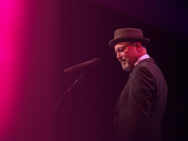 Musician Rubén Blades' new album contains jazz and rumba.