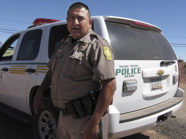 Navajo Nation police Lt. Clifton Smith's department is among those with access to national anti-crime databases. Attorney General Jeff Sessions is expanding that program.