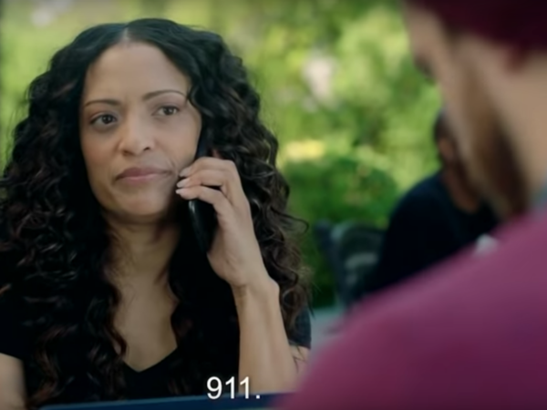In a video produced by ACRONYM, woman calls 911 and informs the police Todd doesn't plan to vote.