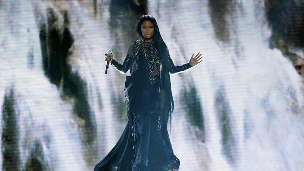 Nicki Minaj performs during the 2017 Billboard Music Awards.