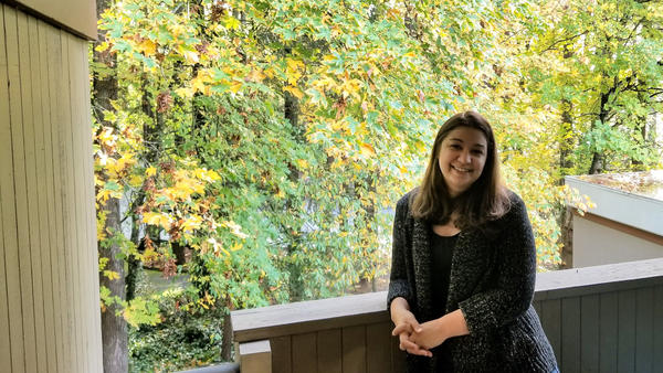 Sara Murawski, pictured on the patio of her new condo in Portland, Ore., has been dreaming of homeownership for two decades. This year, she became a first-time homebuyer — seeing first hand how Portland's red-hot housing market is starting to cool and become a little friendlier to buyers.