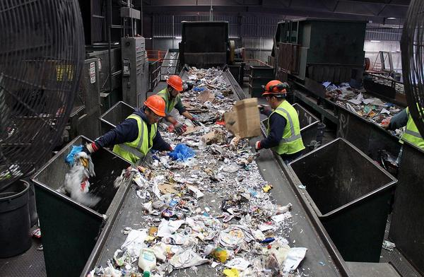 Resource Management has stopped accepting single-stream recyclables, forcing Kirkwood, Brentwood and other municipalities to send their recylables somewhere else for processing.