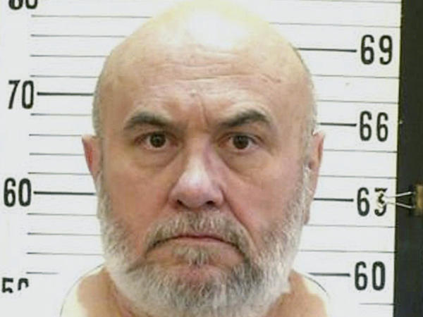 Death row inmate Edmund Zagorski in an undated photo released by the Tennessee Department of Corrections.