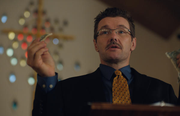 """Joel Edgerton stars as the head of a """"conversion therapy"""" program in <em>Boy Erased</em>, which he also directs."""