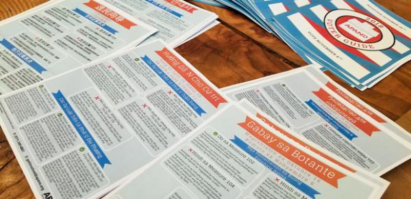 <p>APANO publishes voter guides in several languages for communities who have long felt marginalized in Oregon politics.</p>