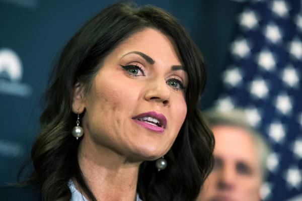 Republican Kristi Noem will become South Dakota's first female governor, after an unexpectedly tight race against moderate Democrat Billie Sutton.