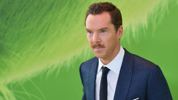 Cumberbatch at the New York premiere of <em>Dr. Seuss' The Grinch</em>.