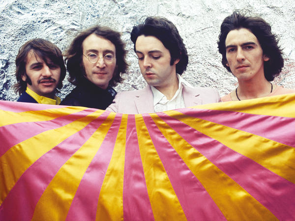 The Beatles in 1968