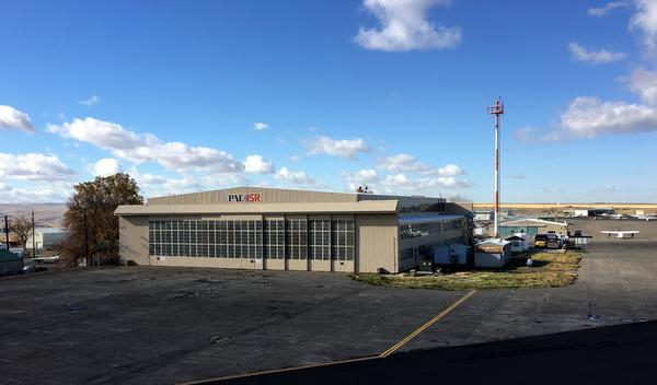 The historic WWII bomber hanger at Eastern Oregon Regional Airport has a new tenant, unmanned aircraft maker PAE ISR.