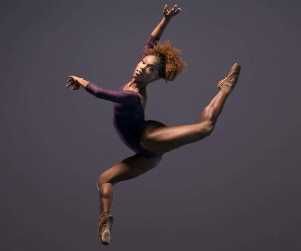 As some ballet shoe companies have begun to introduce darker shades to include women of color, Marie Astrid Mence, junior artist with Balle Black, is excited for ballet's future generations of dancers who will get to grow up with shoe colors that fit their complexion.