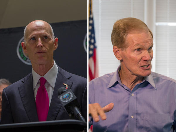 Gov. Rick Scott, U.S. Sen Bill Nelson