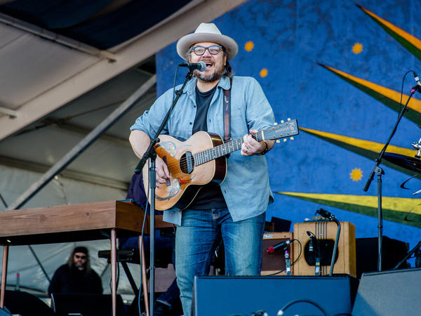 Jeff Tweedy of Wilco performs at the New Orleans Jazz & Heritage Festival at Fair Grounds Race Course on May 5, 2017, in New Orleans, La.