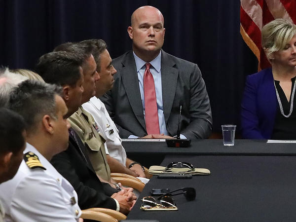 """Acting Attorney General Matthew Whitaker's appointment was legal, a Justice Department memo concluded on Wednesday. Critics call it """"unconstitutional"""" because he wasn't confirmed by the Senate."""