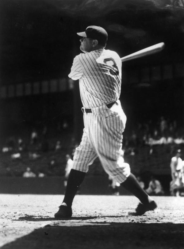 """George Herman """"Babe"""" Ruth Jr. is one of the most famous baseball players in American history. From 1914 to 1935, the legendary slugger hit 714 home runs and helped establish baseball as """"America's Favorite Pastime."""""""