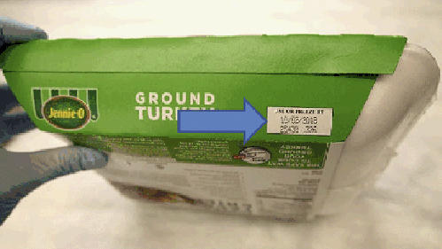 Jennie-O is recalling 45 tons of raw turkey that may be tainted by salmonella.