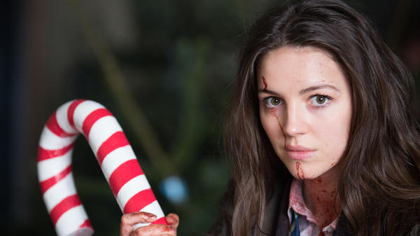 Here We Come A-Shambling: Ella Hunt plays Anna, a young woman caught in a zombie outbreak that's got a good beat and is easy to dance to, in <em>Anna and the Apocalypse</em>.
