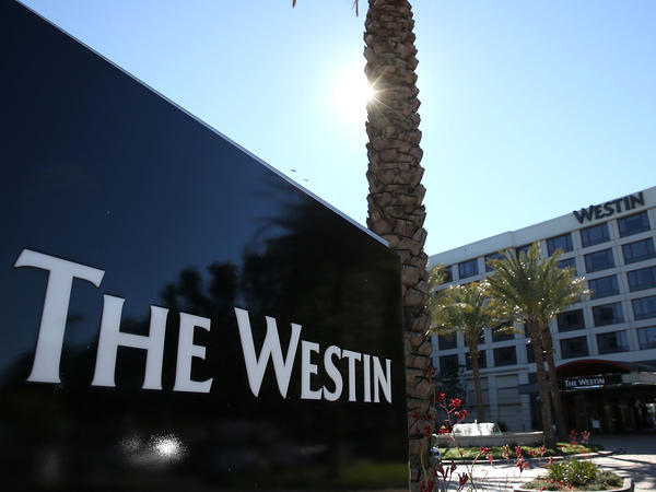 Marriott said that for 327 million guests of its Starwood network, which includes Westin hotels like this one near San Francisco, the compromised data includes dates of birth and passport numbers.