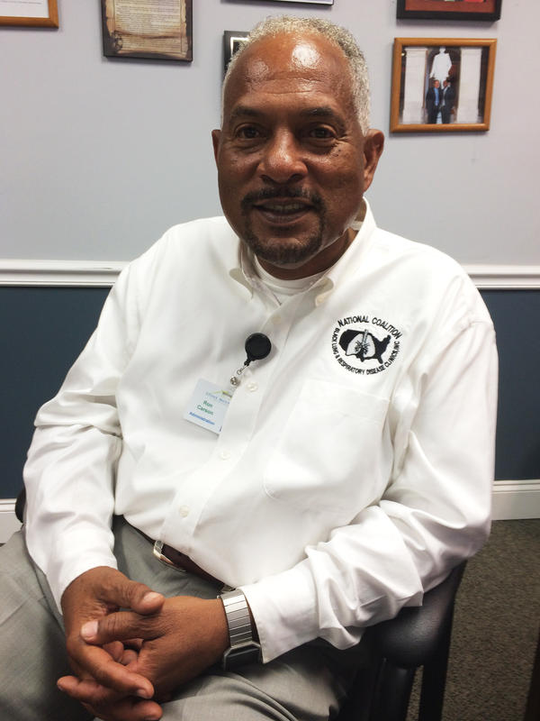 """Ron Carson is the director of the Black Lung Program at Stone Mountain Health Services in St. Charles, Va. """"Something major is going on,"""" he says."""