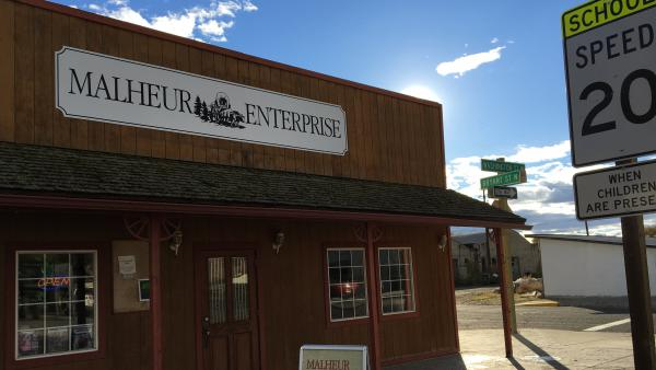 The <em>Malheur Enterprise</em> was founded in 1909. The newspaper has had a renaissance in the past three years since it was bought by longtime newspaper reporter Zaitz and his family.