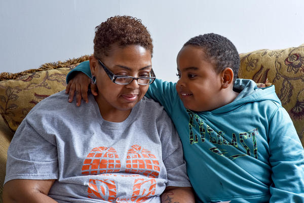Shereese Hickson was diagnosed with multiple sclerosis in 2012 and is unable to work. She supports herself and her son, Isaiah, on $770 a month.