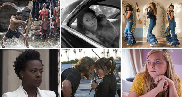 <em>Black Panther, Roma, Mamma Mia! Here We Go Again, Widows, A Star is Born</em> and <em>Eighth Grade</em> all made NPR's favorite-movie list.