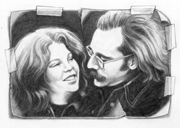 """""""Drawing has made it possible for me to stay close to Joy when she is no longer here,"""" Jonathan Santlofer writes in his memoir, <em>The Widower's Notebook. </em>"""