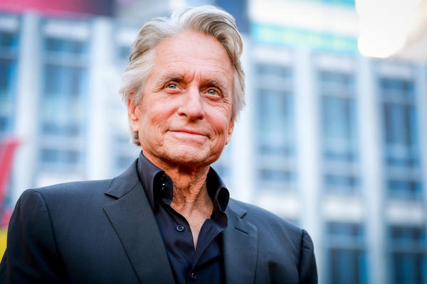 Michael Douglas attends the premiere of Disney And Marvel's 'Ant-Man And The Wasp' on June 25, 2018 in Hollywood, California. (Rich Fury/Getty Images)