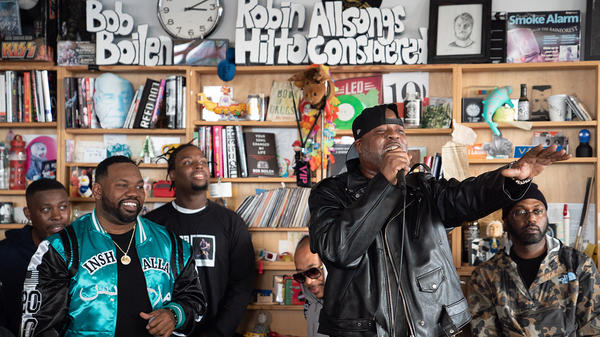 The Wu Tang Clan performs a Tiny Desk Concert on Nov. 1, 2018