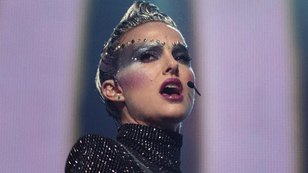 Natalie Portman's performance as pop star Celeste is bold, glittery and fearless in <em>Vox Lux</em>.