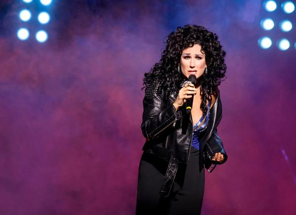 "Stephanie J. Block plays Cher from the 1980s on in the new Broadway musical, ""The Cher Show."" (Joan Marcus)"