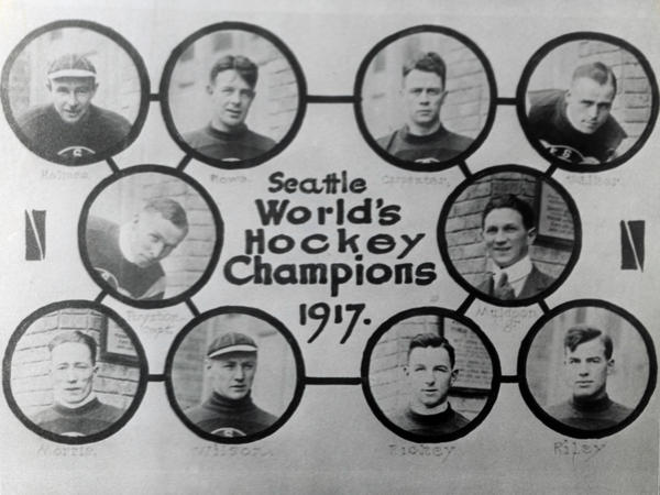 Take a gander at history. Here's the roster of 1917's Stanley Cup-winning Seattle Metropolitans.