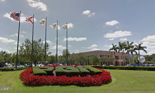 PGA of American headquarters in Palm Beach Gardens. The organization will move to Texas in 2022.