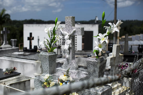 After the hurricane, the Puerto Rico Department of Health closed the cemetery, calling the open graves a health risk. More than a year later, there is no plan in place to repair and reopen it.
