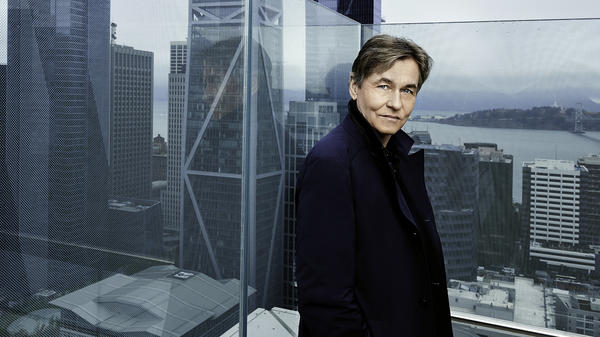 The Finnish composer and conductor Esa-Pekka Salonen.