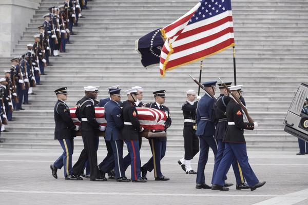 Bush will be buried at the George H.W. Bush Presidential Library at Texas A&M University in College Station, Texas.