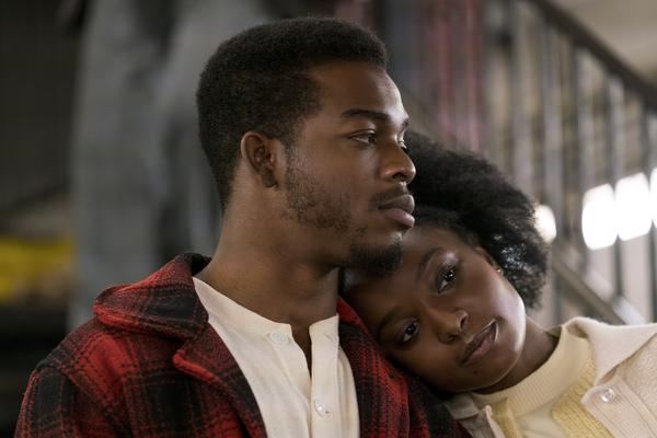 Stephan James and KiKi Layne star as Fonny and Tish, the couple at the center of <em>If Beale Street Could Talk. </em>The movie is director Barry Jenkins' adaptation of a James Baldwin novel of the same name.