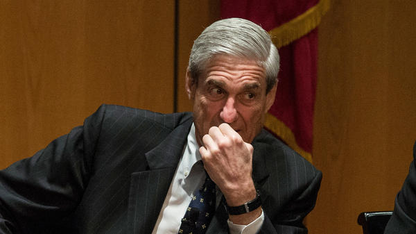 Former FBI Director Robert Mueller III, pictured in 2013 during a forum in in New York.