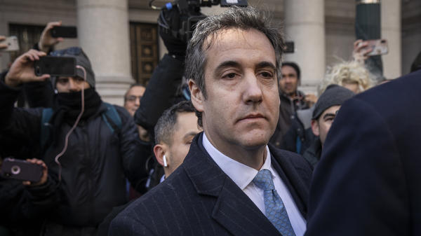 Michael Cohen, former personal attorney to President Trump, is scheduled to be sentenced Dec. 12 in New York by Judge William H. Pauley.