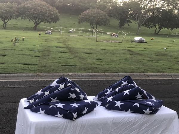 The National Memorial Cemetery of the Pacific in Honolulu