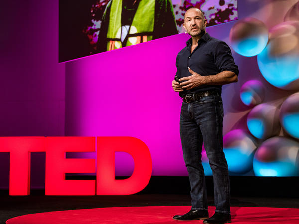 David Katz on the TED stage